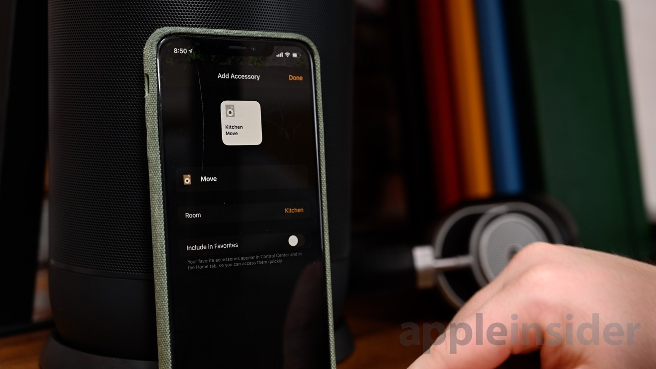 Sonos Move can be added to HomeKit