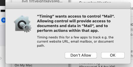 If it's not made by Apple, timing apps all need your explicit permission to monitor your device