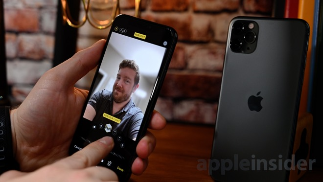 iPhone 11 Pro has a 12MP True Depth Camera System