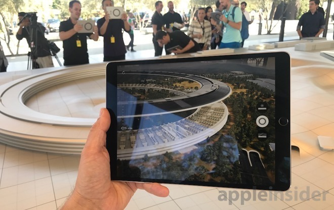 Apple's current AR offering revolves around ARKit in iOS devices
