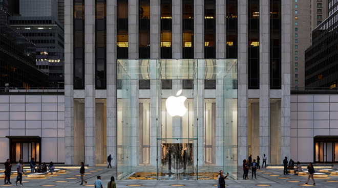 Apple's iconic Fifth Avenue Store reopens after two years