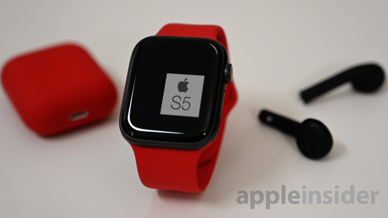 Apple Watch runs on the S5 SoC