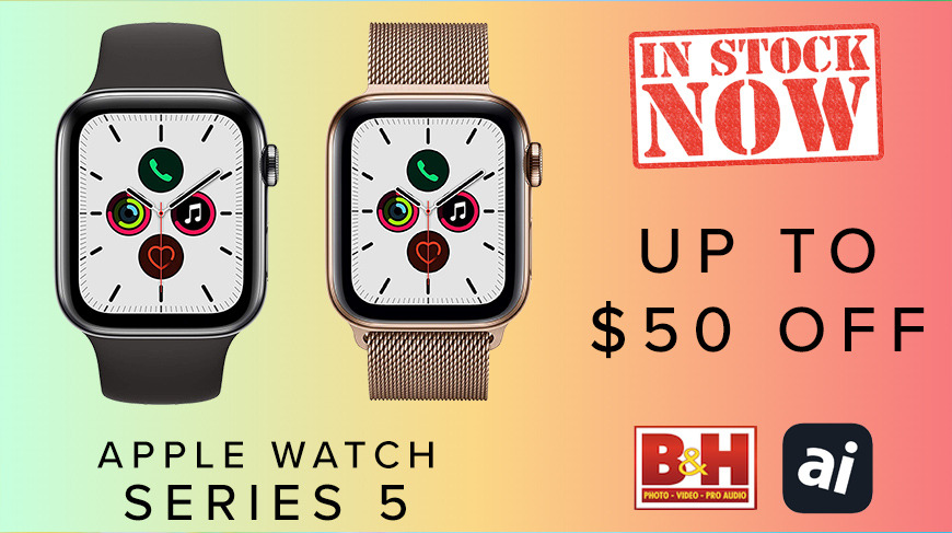 Deal Alert Apple Watch Series 5 In Stock Now And Up To 50 Off Appleinsider