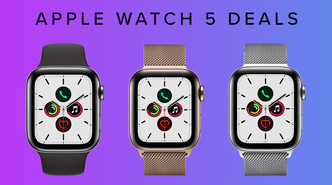 Apple Watch 5 deals