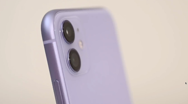 Purple is the new color for iPhone 11, but it and all the rest are now done in a softer, pastel shade.