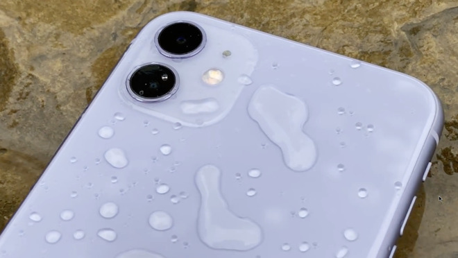 We did this so you don't have to. But you can get your new iPhone 11 quite wet.