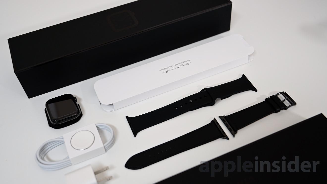 Composants de l'Apple Watch Hermes