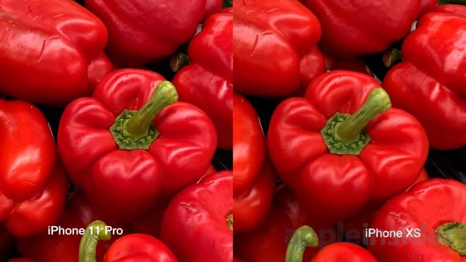 iPhone 11 Pro (왼쪽) 및 iPhone XS (오른쪽)