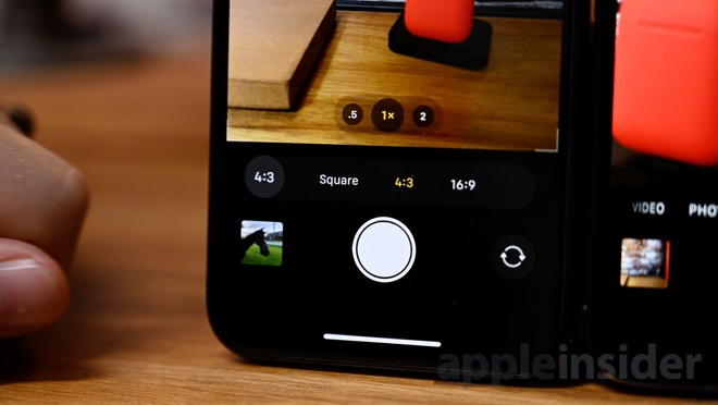 Alternate aspect ratios on iPhone 11