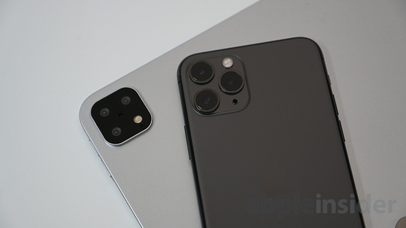 Comparing the cameras on the iPhone 11 Pro and the 2019 iPad Pro mockup