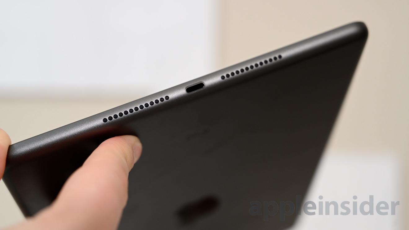 7th-gen iPad speakers