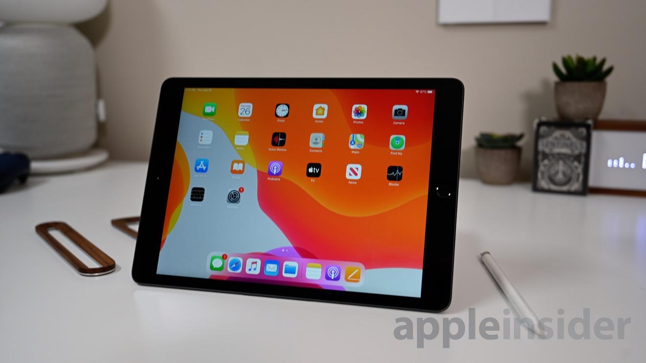 The iPad still has a non-laminated display