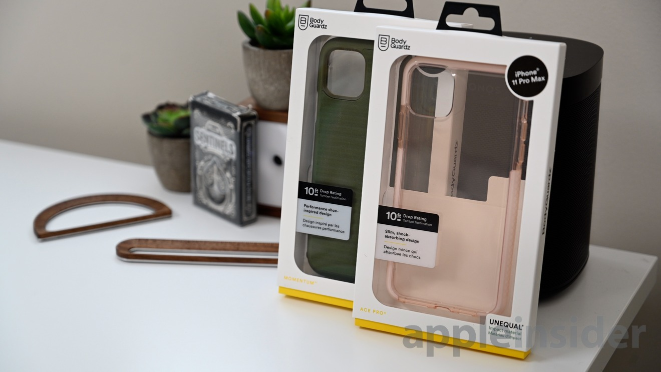 Momentum and Ace Pro cases by Body Guardz