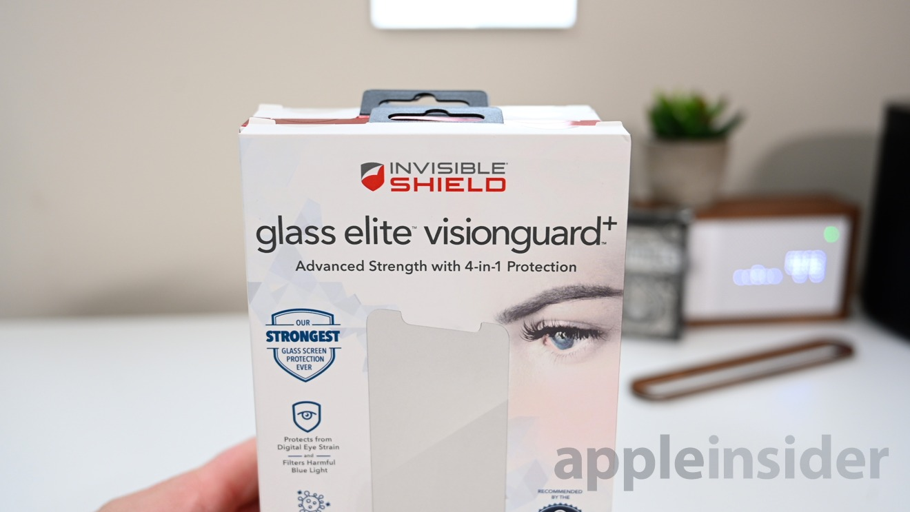InvisibleShield Glass Elite Visionguard+ screen protector for iPhone 11 Pro Max