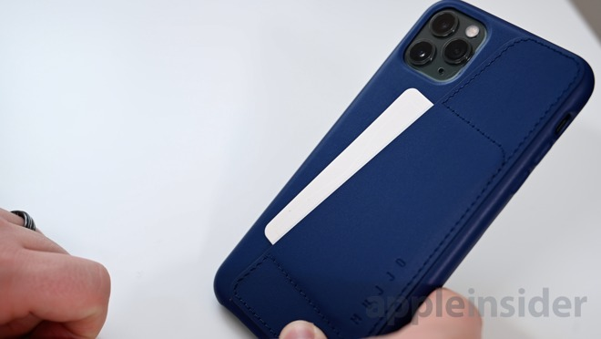 Buy online Silicone Cover Premium iPhone 11 Pro Max Blue