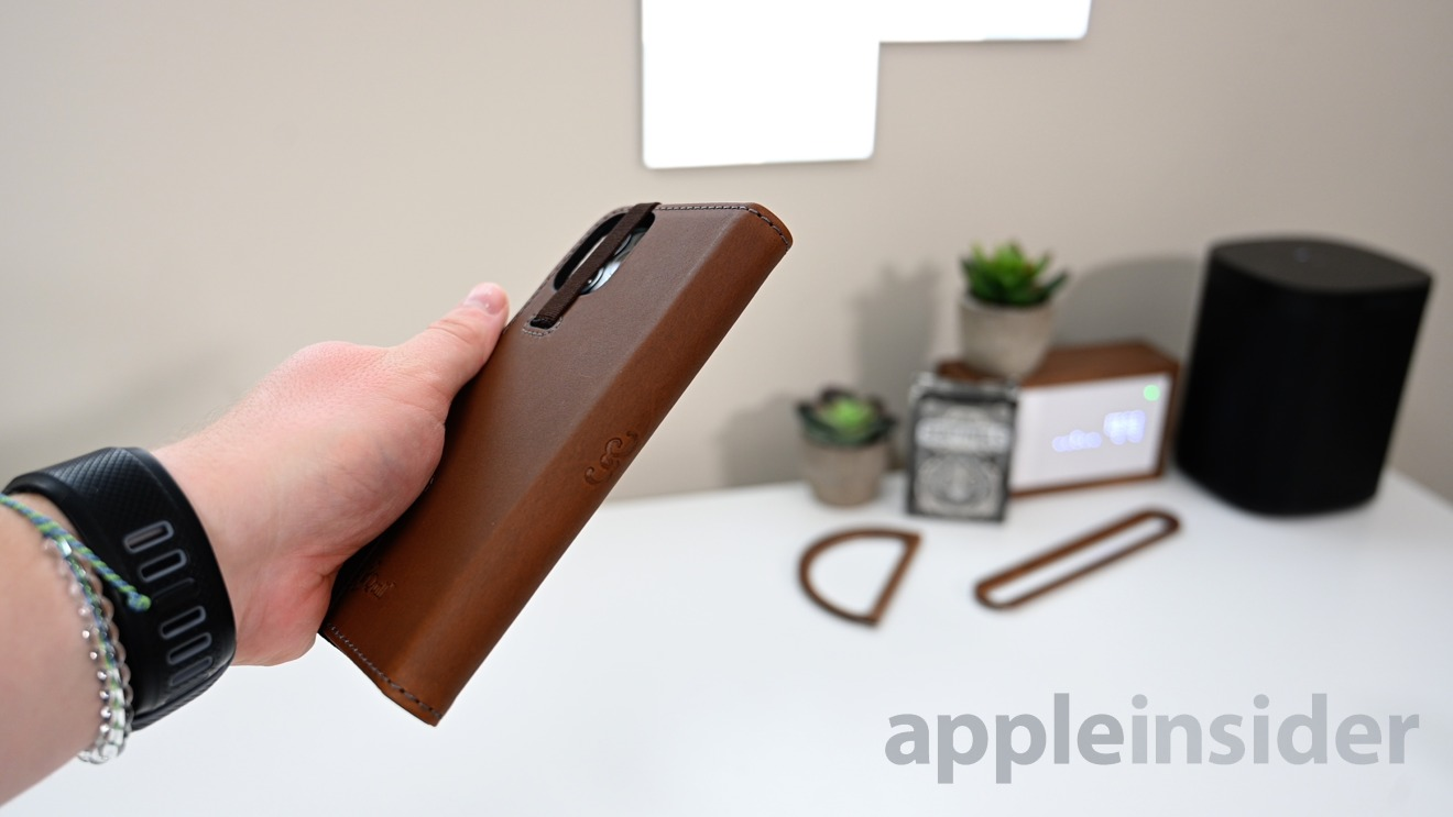 Pad & Quill leather wallet folio