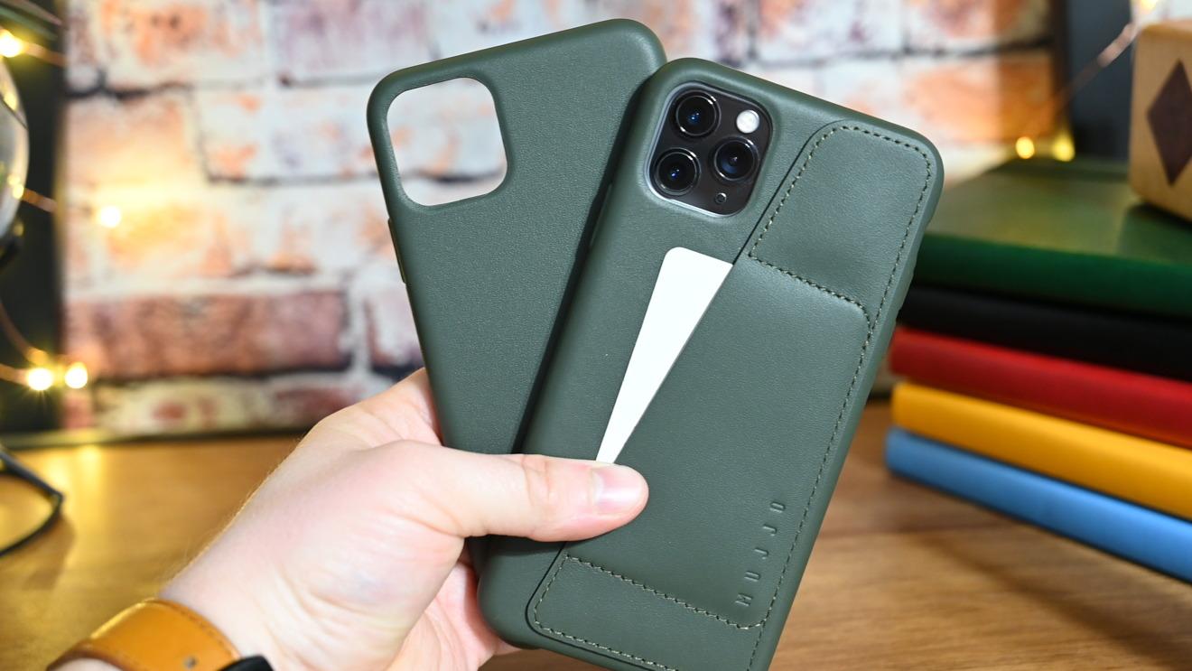 Mujjo's new Slate Green cases