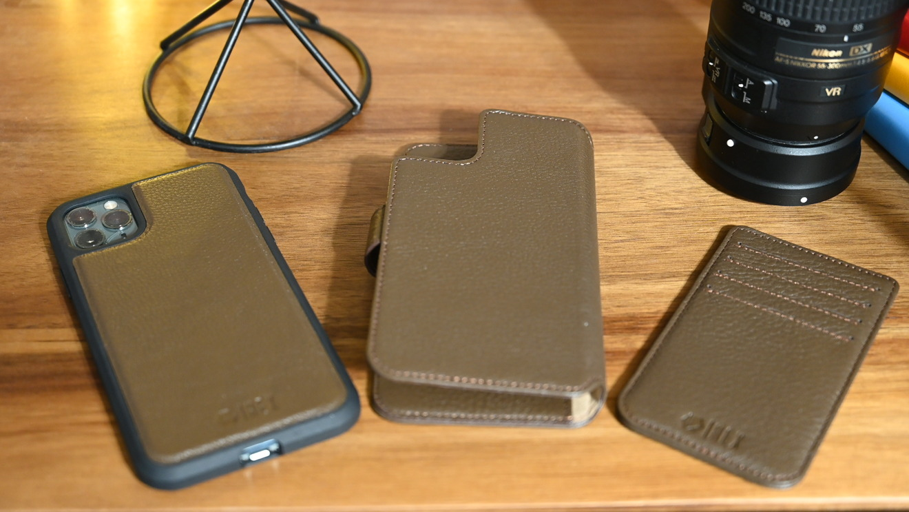 All three parts of the Hex 4-in-1 case
