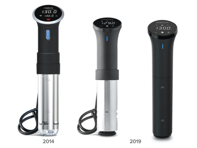 The original Anova Precision Cooker versus the new Precision Cooker and Precision Cooker Nano