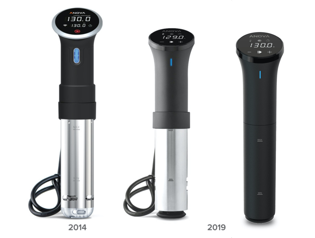 The original Anova Precision Cooker versus the new Precision Cooker and Precision Cooker Nano