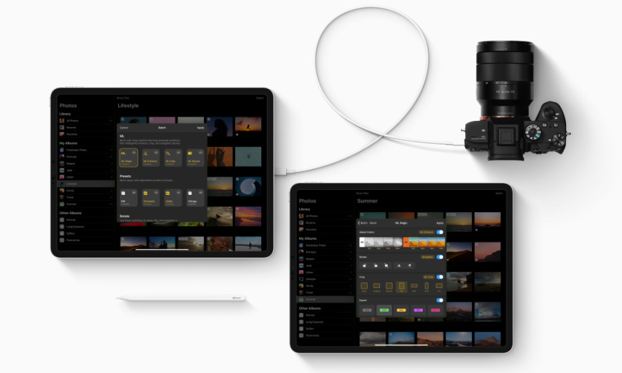 Pixelmator Photo 1.1 can batch edit images and also work directly with Photos. (Source: Pixelmator)