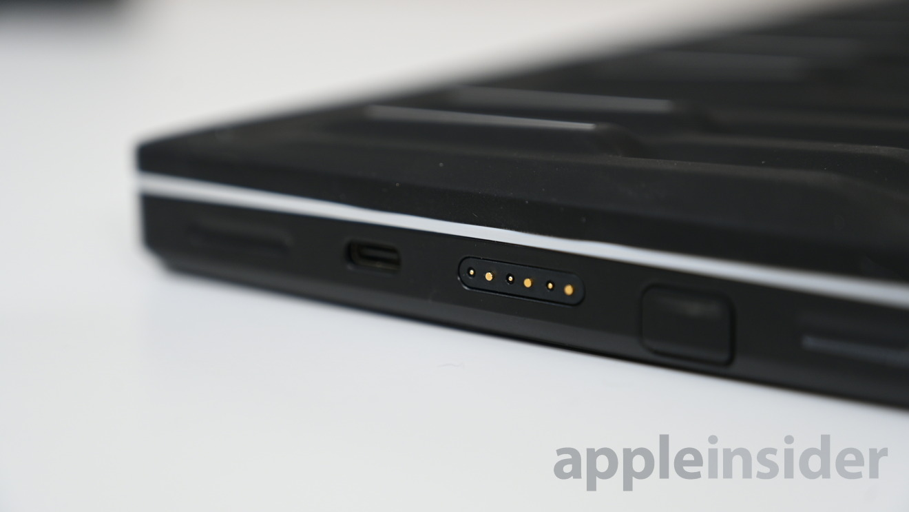 Magnetic connectors on the sides of all Roli Blocks