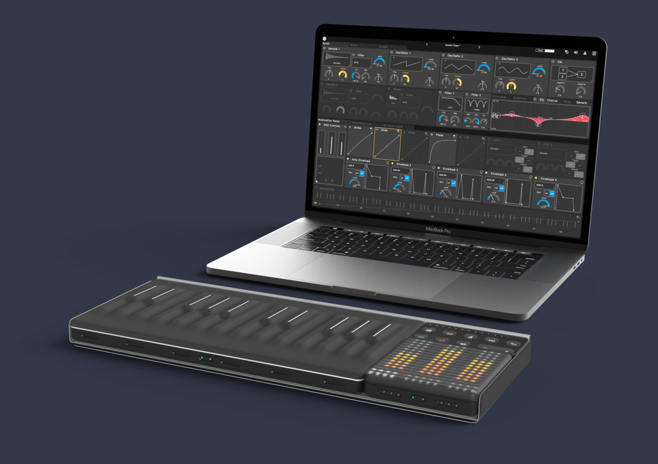 Roli Songmaker Kit works also with Mac