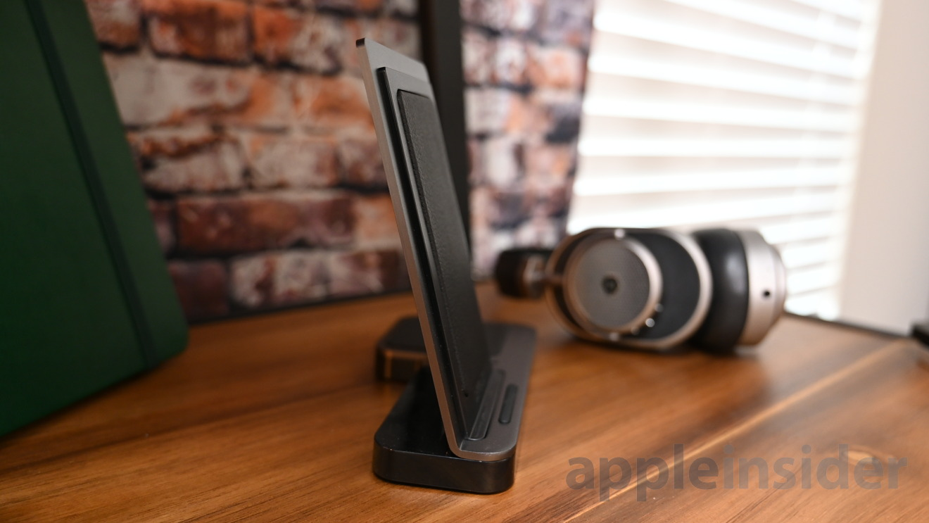 X-Doria Defense Dual Wireless Charger is quite thin from the side