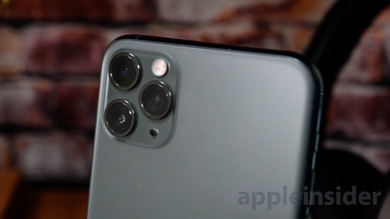 The iPhone 11 Pro Max in Midnight Green