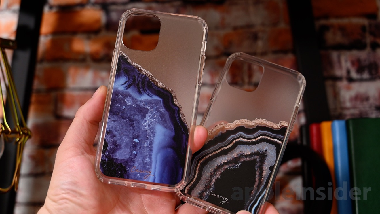 The Casery Agate cases for iPhone 11 Pro
