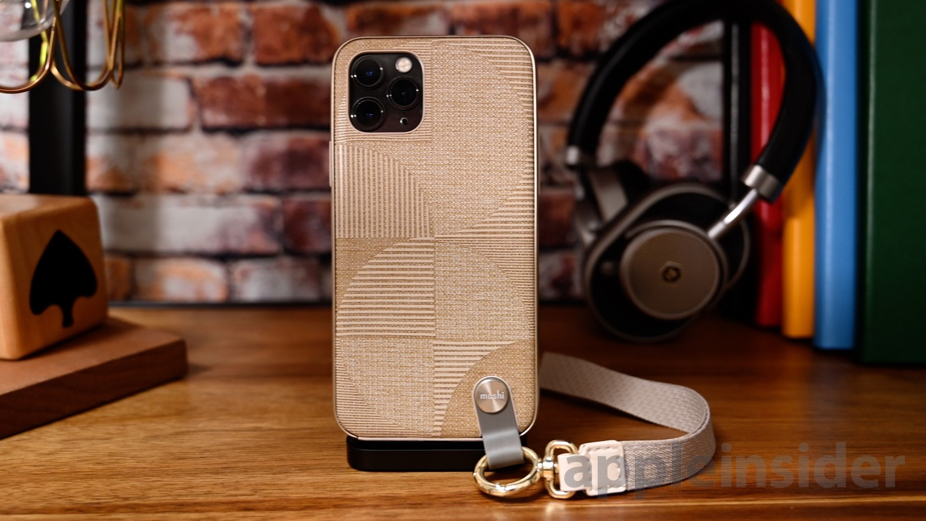 Moshi Altra iPhone 11 Pro case with lanyard