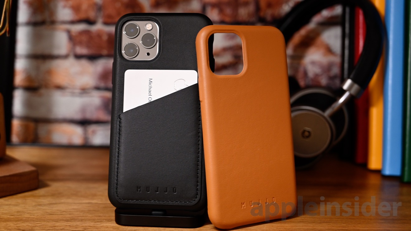 Mujjo premium leahter cases for iPhone 11 Pro