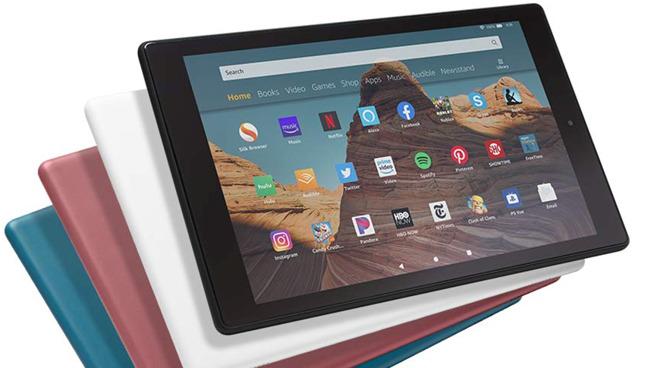 Amazon's newly updated Fire HD 10