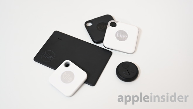 Tile's 2019 lineup of Slim, Mate, Pro, and Sticker