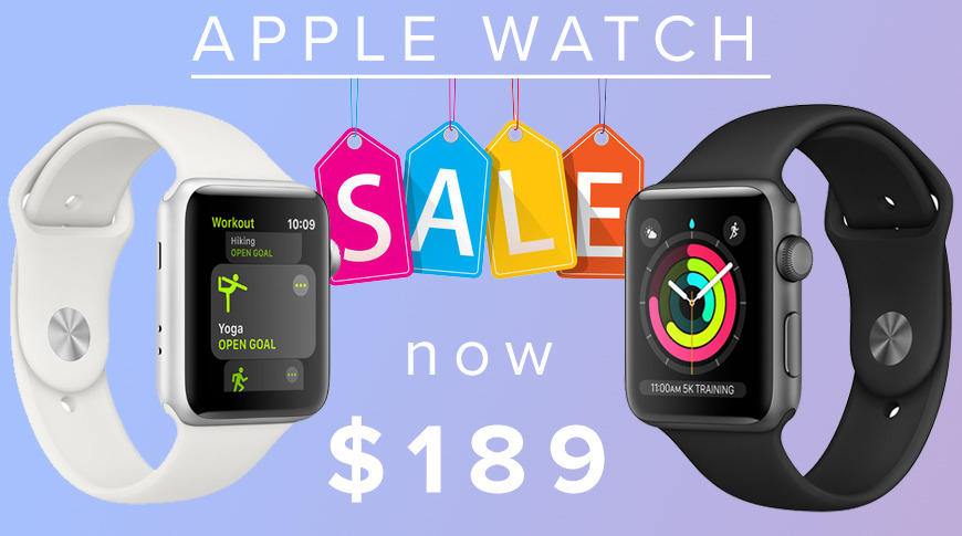 photo of Apple Watch Series 3 hits new record low price at Amazon image