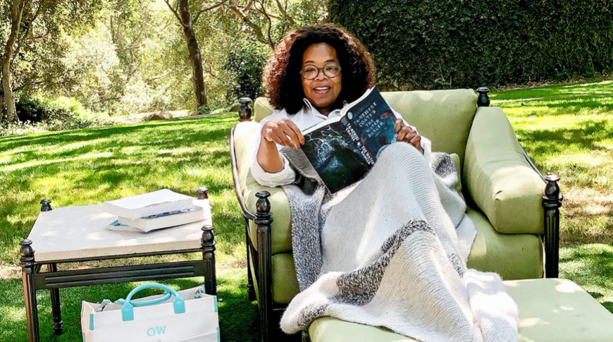 photo of Oprah Winfrey reveals why she's bringing her book club to Apple TV+ image