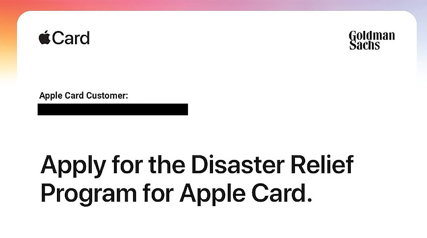 photo of Apple Card Disaster Relief Program eases financial burden in times of crisis image