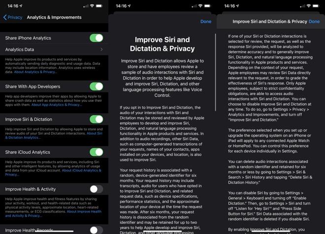 iOS 13.2 developer beta 2 Siri improvements