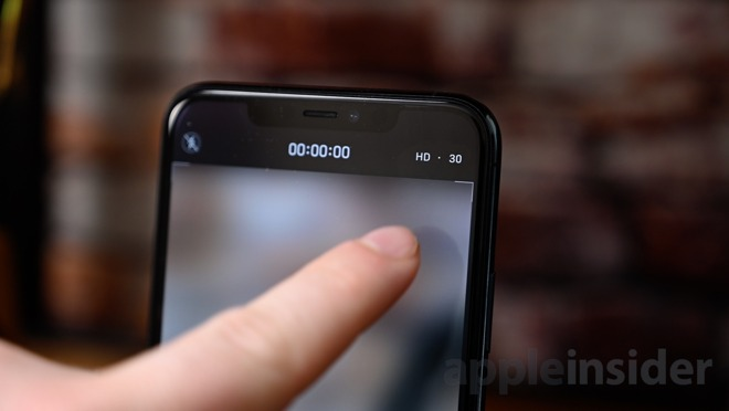 Camera controls in iOS 13.2