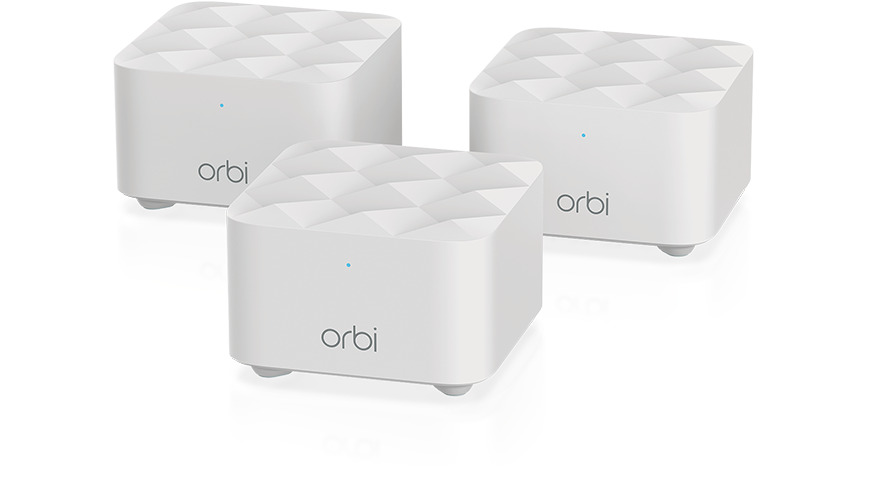 Netgear expands Orbi family with Orbi Mesh WiFi system