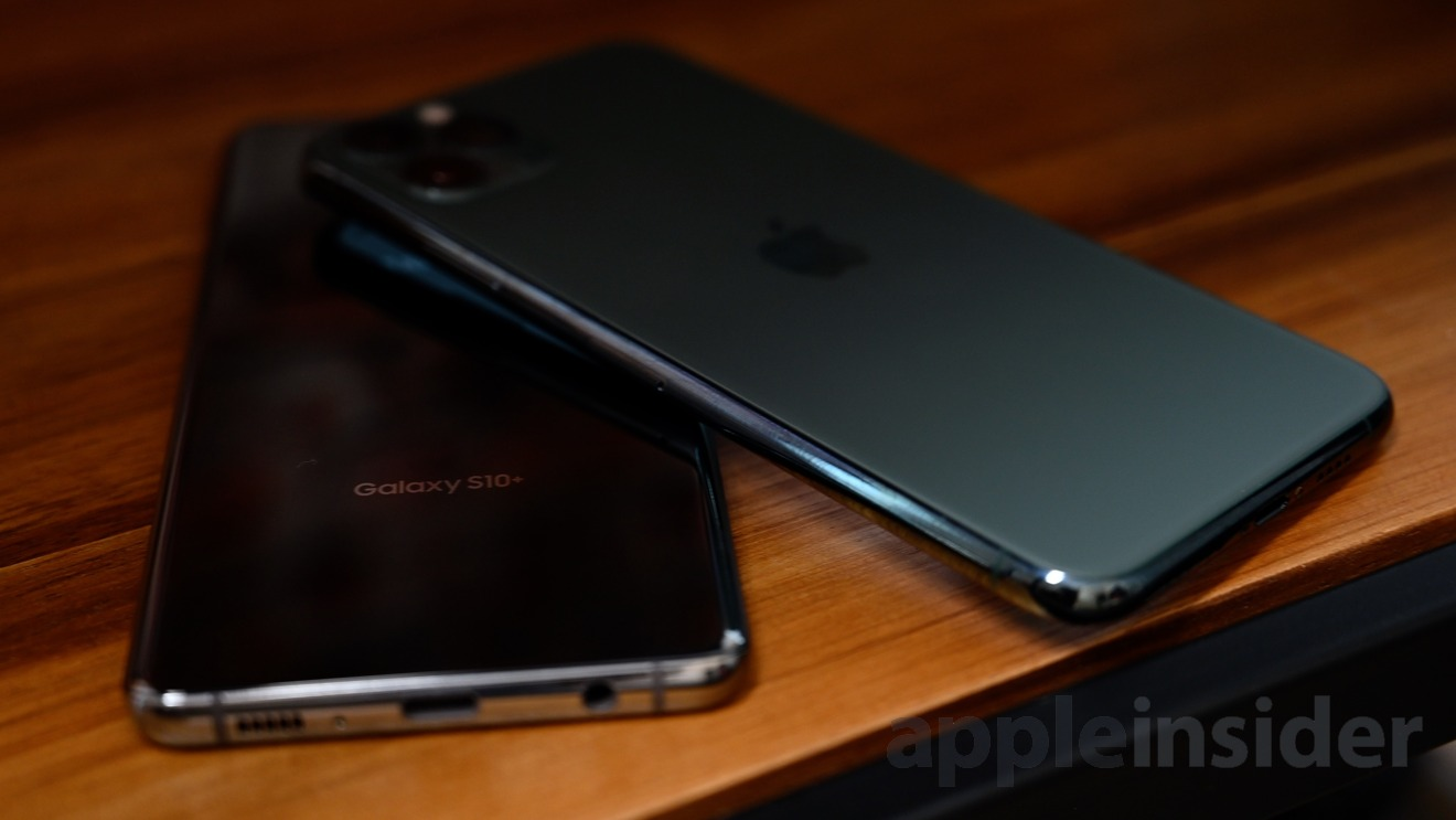 Comparing the Galaxy S10 and Galaxy S10+ and the iPhone 11 Pro and iPhone 11 Pro Max