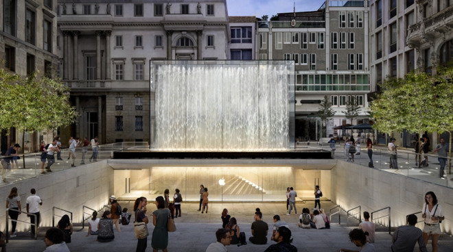 Apple's store in Milan, Italy (Source: Apple)