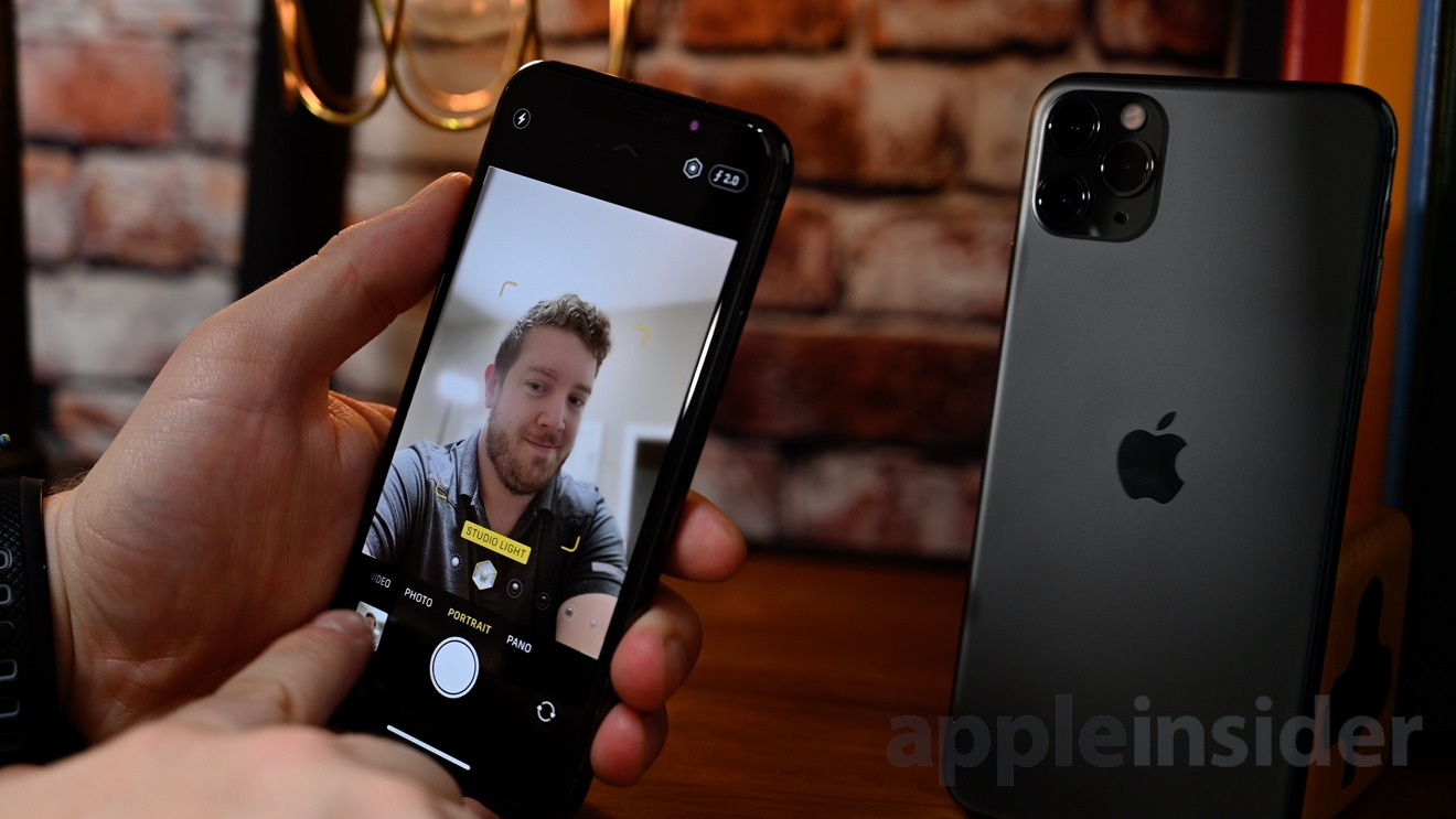 Higher resolution selfies on iPhone 11 Pro