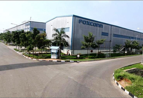 Foxconn's plant in India
