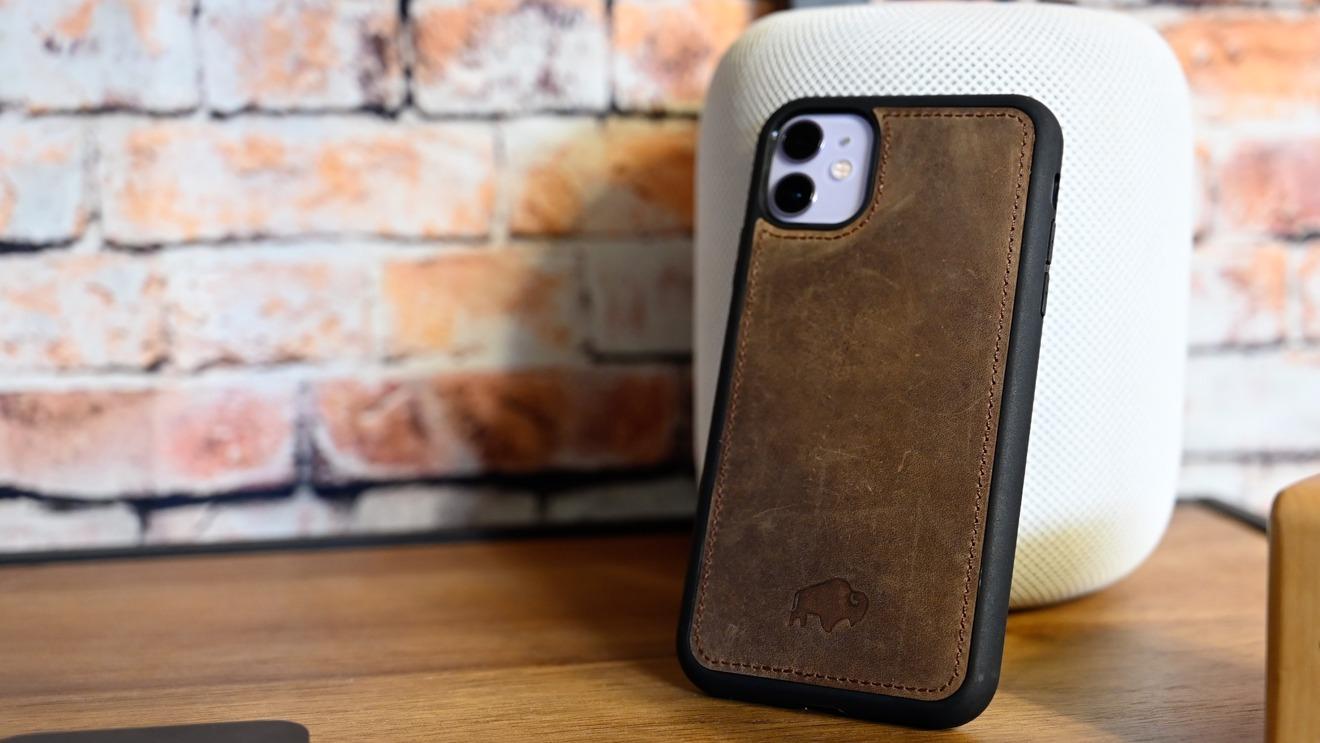 Burkley's iPhone shell is detachable