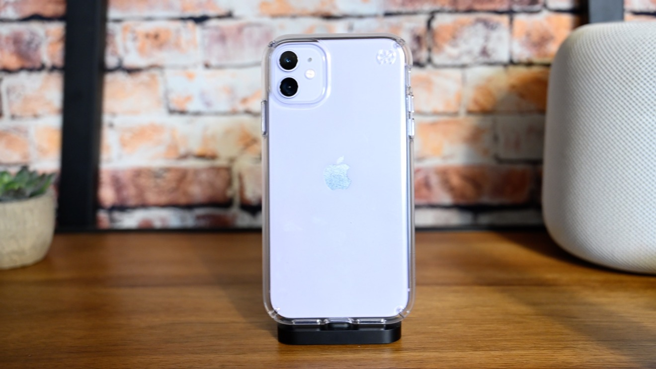 Speck Gemshell clear iPhone 11 case