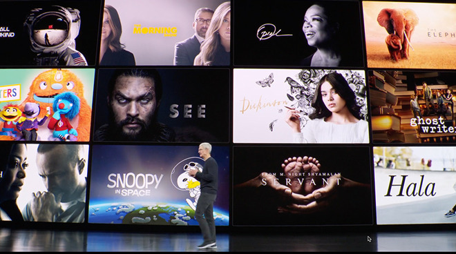 Apple renews four Apple TV+ shows for second seasons