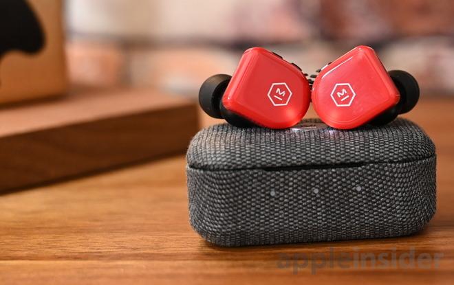 Flame Red MW07 GO headphones