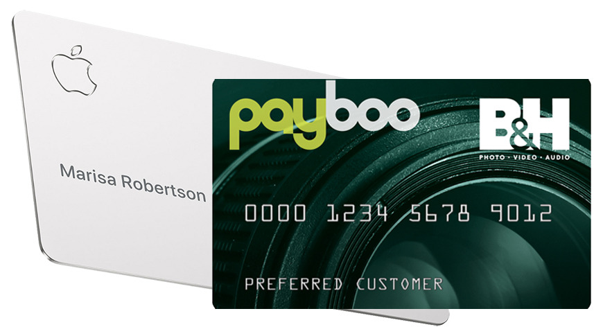 Apple Card and BandH Payboo Credit Card
