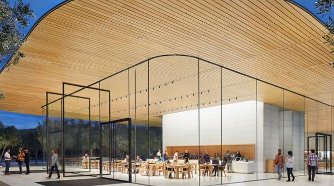 Apple Store in Apple Park